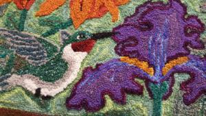Hummingbird Haven, detail