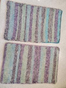 Felted Crochet Rugs