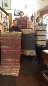Rosepath rag rugs
