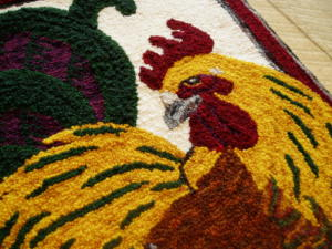 Mr. Rooster detail