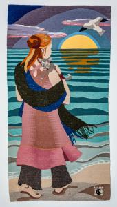 Nele and the Sea tapestry